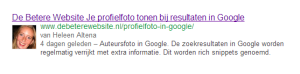 Profielfoto in Google