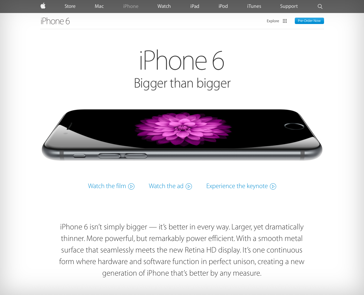 apple-one-page-voorbeeld