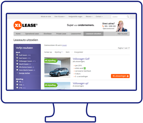 XLLease Elastic search
