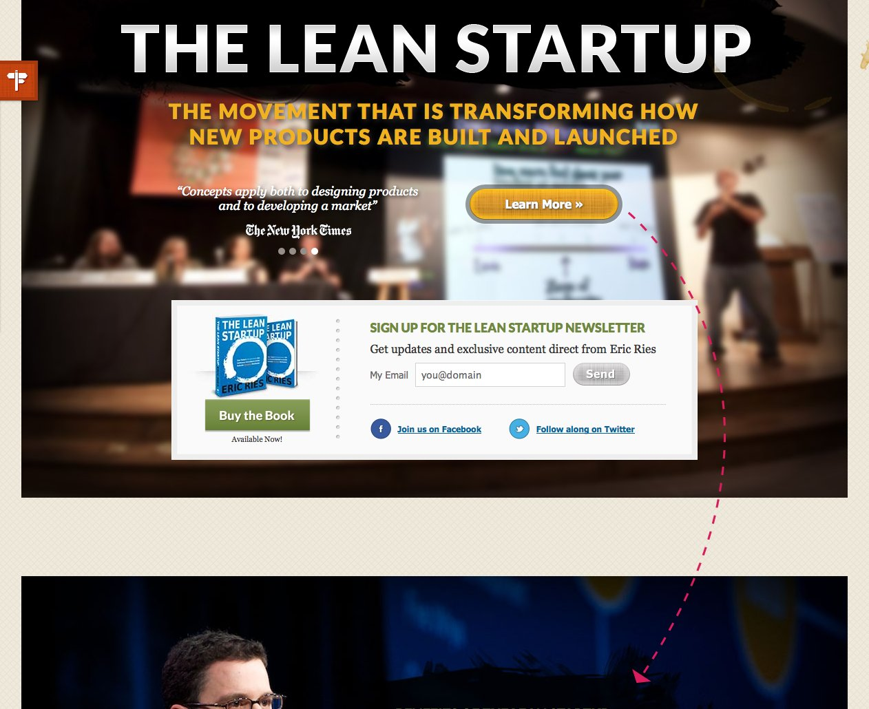 the-lean-startup-one-page-webiste
