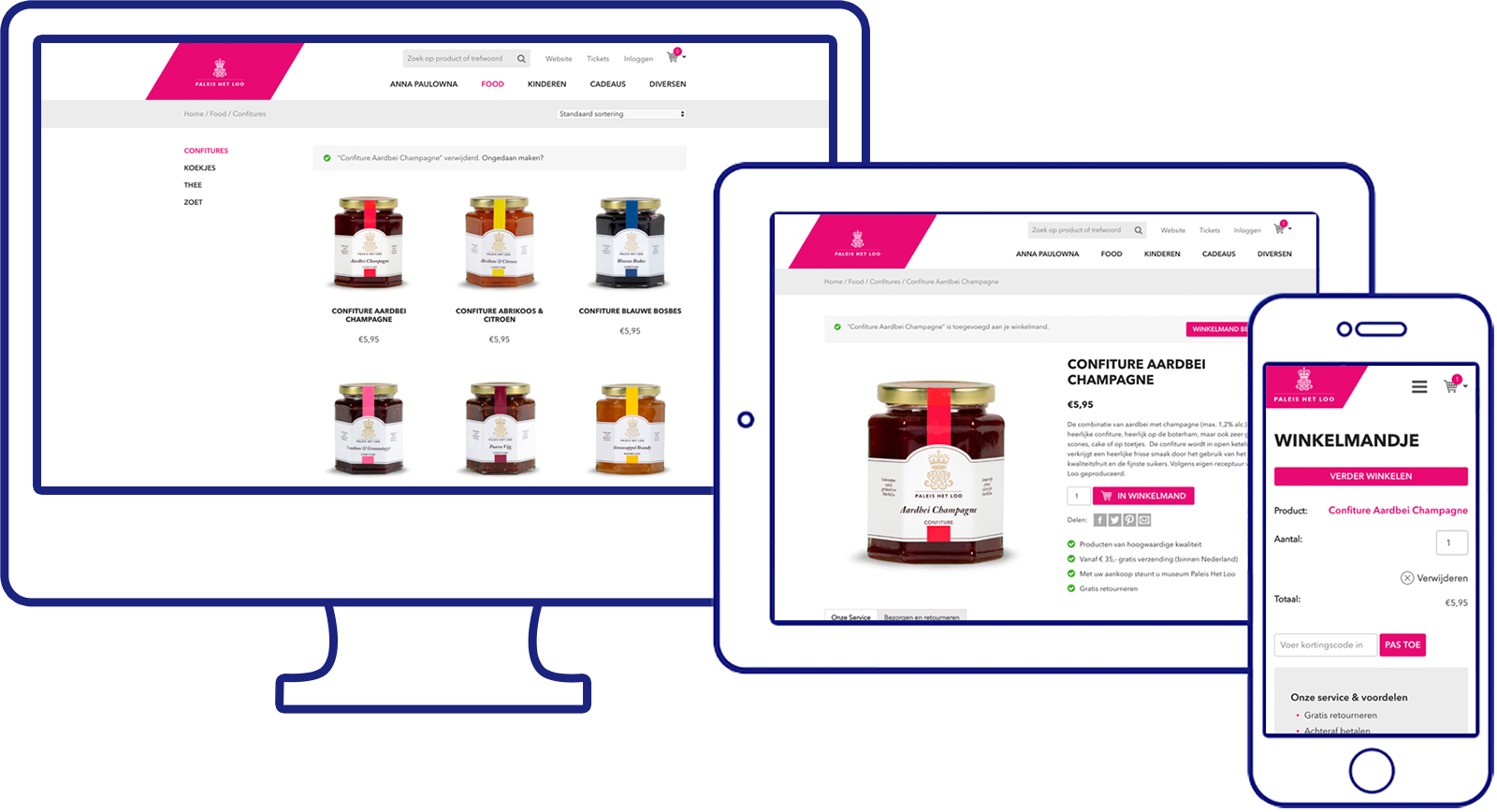 Webshop WooCommerce - Design - Internetbureau Max